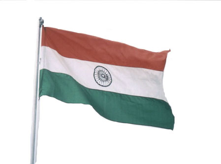 Photo of the Flag of India